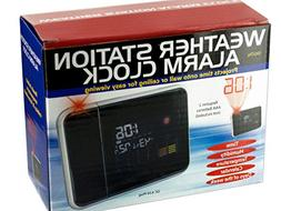 Weather Station Digital Alarm Clock - Pack of 4