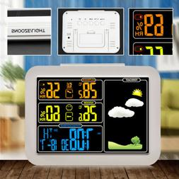 Weather Station Sensor Forecast Alarm Clock Outdoor Indoor T