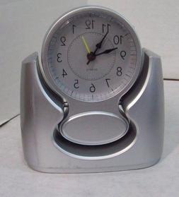 Whisper Quiet Battery Operated Quartz Alarm Clock,  M3