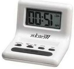 "WHT CELEBRITY GLO-CLOCK .8""LCD,No 47539,  Nyl Holdings Llc/W"