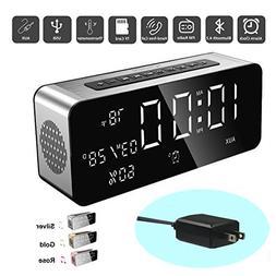 Orionstar Wireless Bluetooth Alarm Clock Radio Speaker with