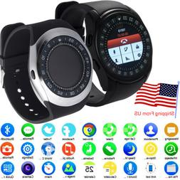 Women Men Business Sports Bluetooth Smart Watch Digital Alar