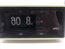 Working COPAL Flip Alarm Clock Model RP-170. Made IN JAPAN.