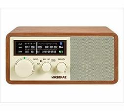 Sangean WR-16 AM/FM Bluetooth Wooden Cabinet Radio - Walnut