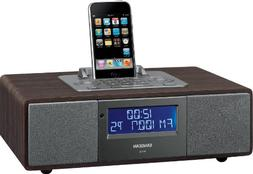 Sangean WR-5 FM-RBDS/AM/Aux-in Tabletop Wooden Cabinet Recei