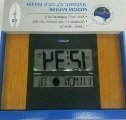 ws 8007u o atomic wall clock w